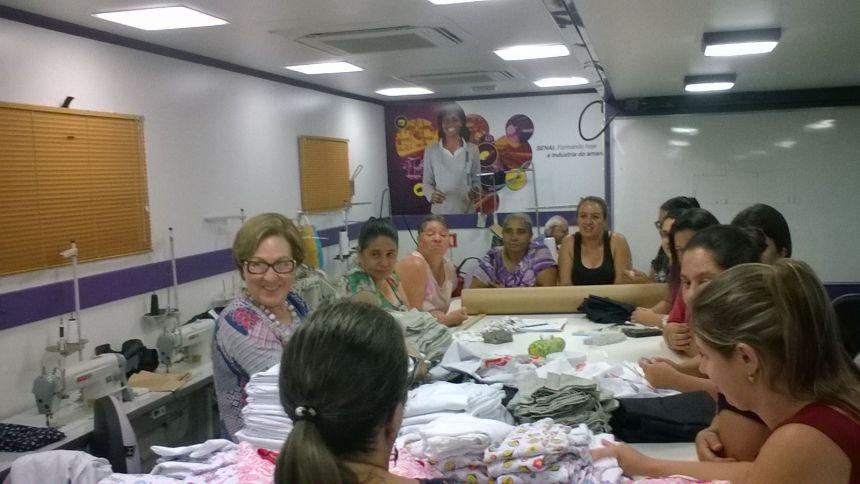 Prefeitura conclui curso ′Modelista de Roupas′ na Cachoeira