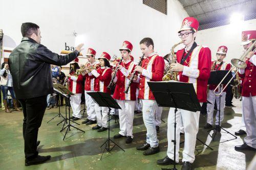 Novos instrumentos da Banda Municipal