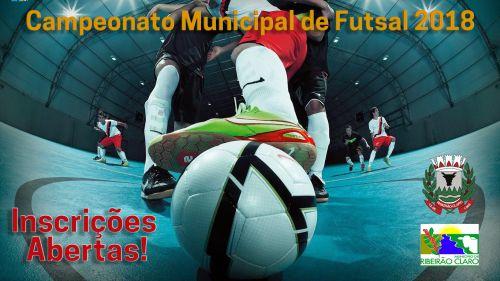 Abertas as inscrições para Campeonato de Futsal