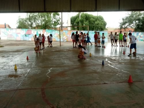 Projeto Modalidades Esportivas/Atividades Lúdicas inicia aulas