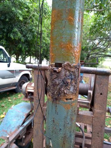 Árvores que serão substituídas na Prainha da Cachoeira prejudicavam abastecimento de água