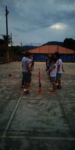 Alunos da Cachoeira recebem projeto Modalidades Esportivas/Atividades Lúdicas