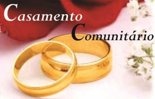 Abertas as inscrições para Casamento Comunitário