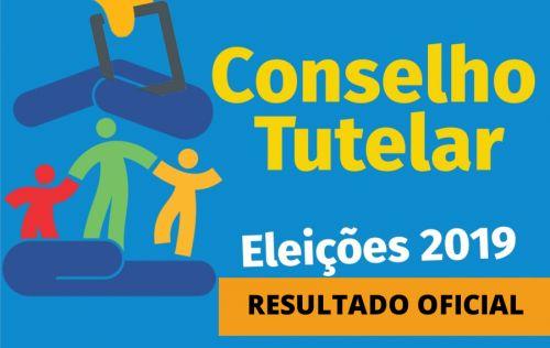 Resultado das eleições do Conselho Tutelar