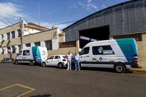 Saúde recebe duas novas Vans e um Gol