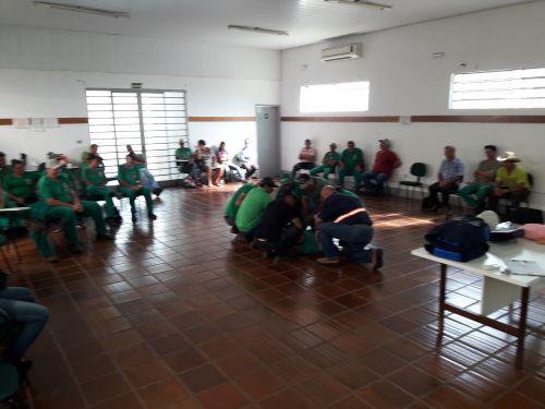 Prefeitura de Ribeirão Claro promove curso sobre uso de EPI