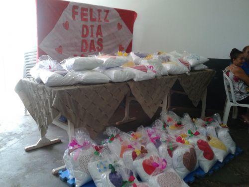 Dia das Mães grupo de Idosos
