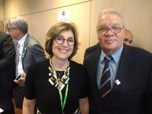 Reunião com a ministra do Meio Ambiente