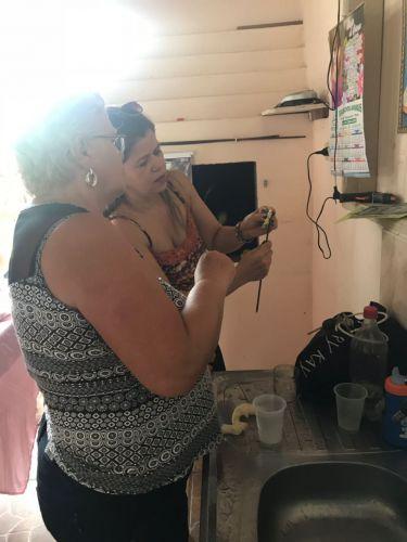 Cras Itinerante leva programas da Prefeitura ao Bairro das Oliveiras