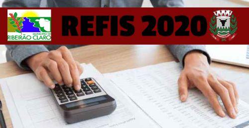 Prefeitura disponibilizará Refis até o dia 28 de fevereiro