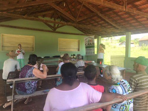 Bairro rural Sasdelli recebe Cras Itinerante e Saúde na Comunidade