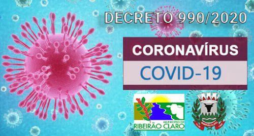 DECRETO 990/220 - CORONAVÍRUS