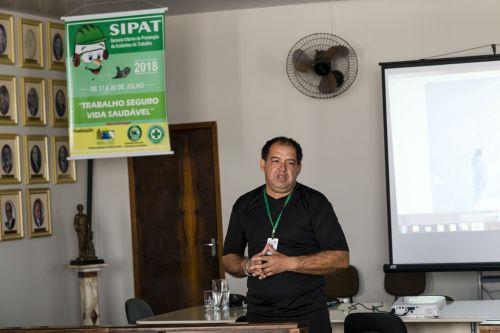 2ª palestra da SIPAT 2018 para os servidores públicos da Secretaria de Obras e Urbanismo