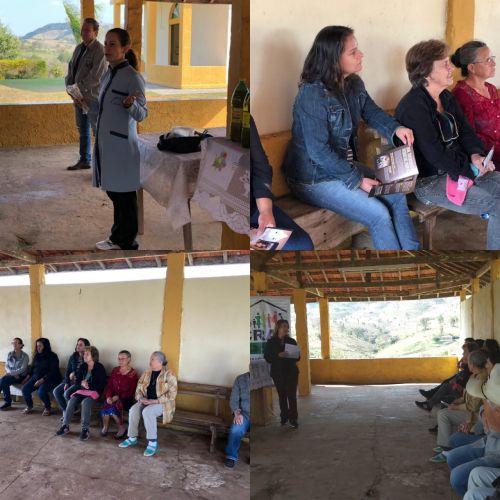 Saúde participa de ação no bairro rural Ribeirão do Meio