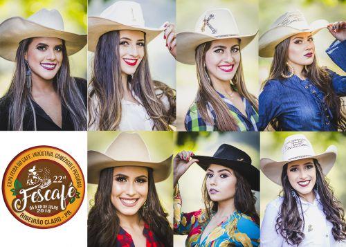 Confira o ensaio com as candidatas a Rainha e Princesas da 22ª Fescafé