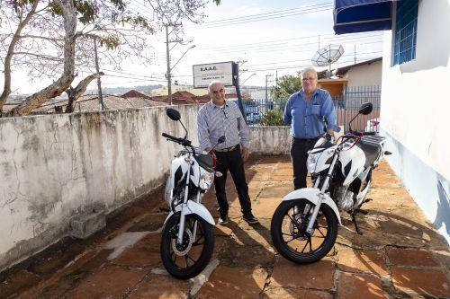 SAAE adquire duas novas motos para agilizar leitura e emissão de faturas