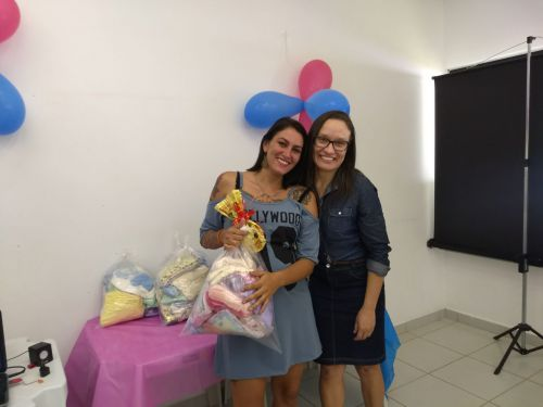 Secretaria de Assistência Social e Cras realizam chá de bebê