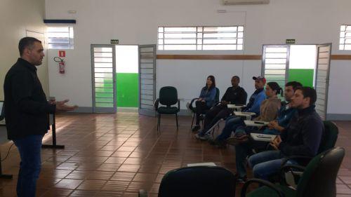 Membros da CIPA passam por treinamento