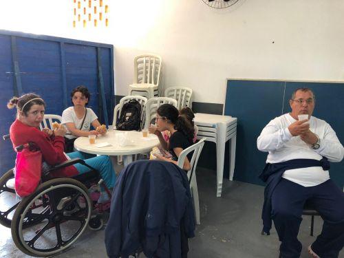 Alunos da Apae participam de atividades no Campo do Rio