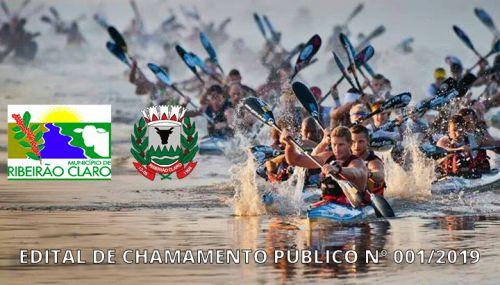 EDITAL DE CHAMAMENTO PÚBLICO Nº 001/2019