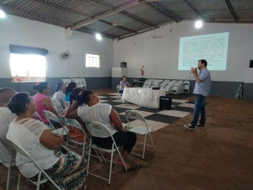 """Reunião unificada para os beneficiários do BPC e Bolsa Família é realizada neste mês de outubro com o tema  """"MEU INSS"""""""