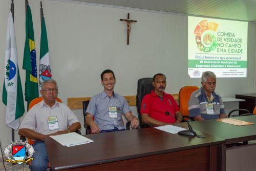 Conferencia Municipal de Segurança Alimentar É Realizada Com Sucesso
