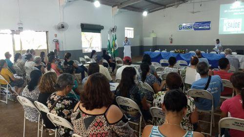 CONFERÊNCIA DE SAÚDE É REALIZADA E RECEBEUPROPOSTAS IMPORTANTES