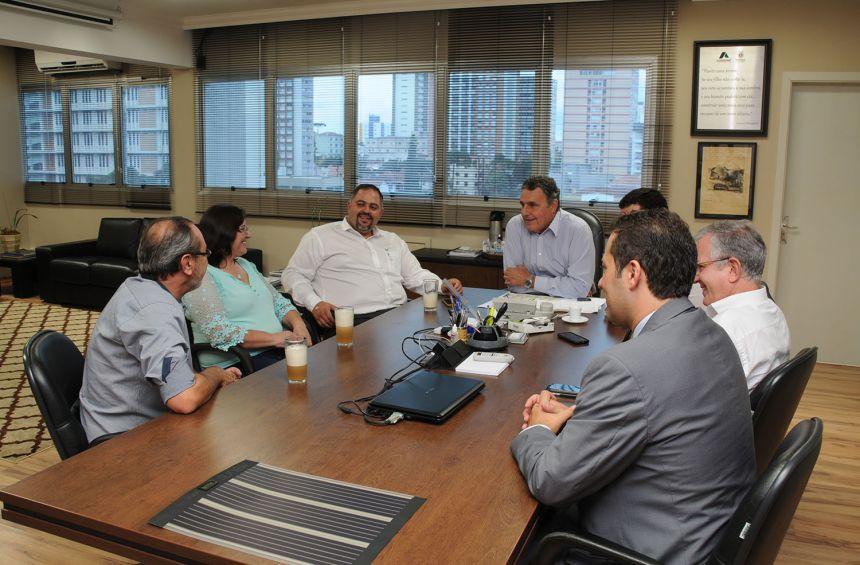 Prefeitura de Guamiranga solicita apoio da Cohapar em novos projetos