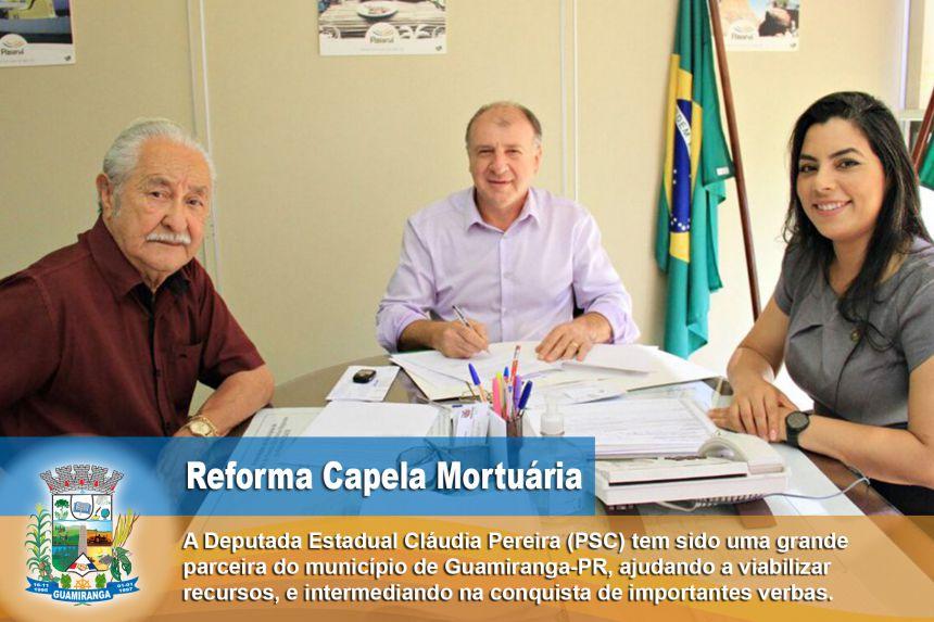 REFORMA DA CAPELA MORTUÁRIA