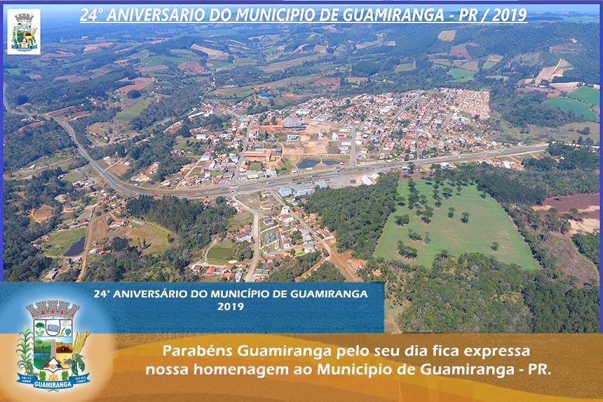 24º Aniversario do Município de Guamiranga - PR