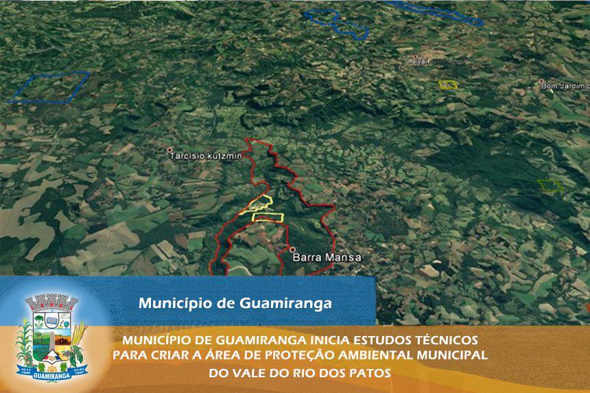 Município de Guamiranga inicia estudos técnicos para criar a área de Proteção Ambiental Municipal do Vale do Rio dos Patos