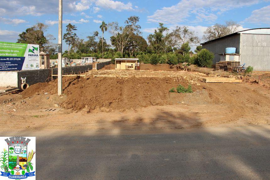Início da Construção da Capela Mortuária em Boa Vista