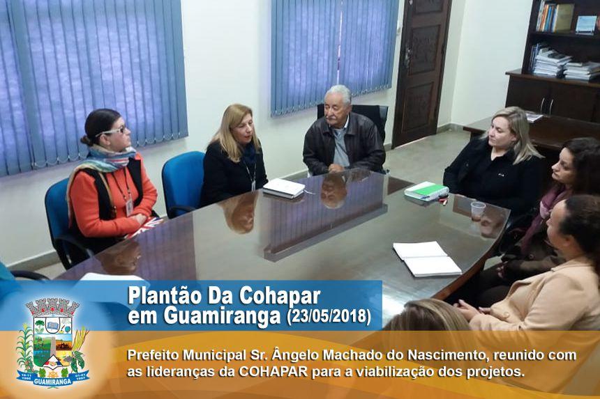 Plantão Cohapar e Cadastro Online