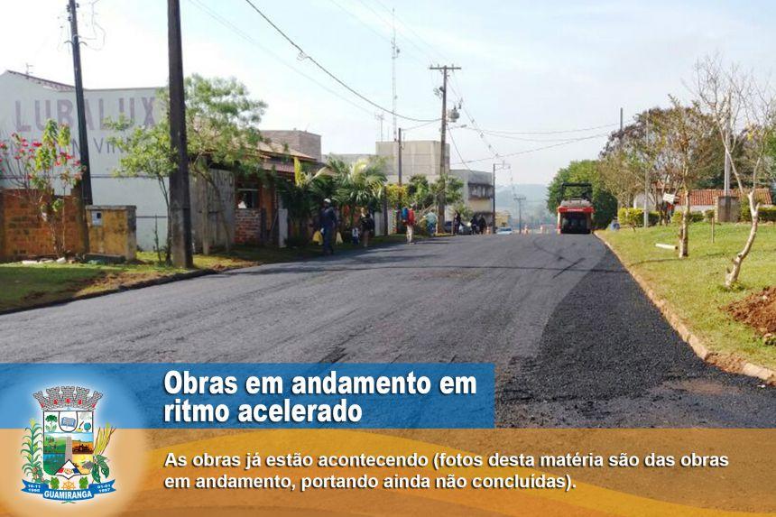 Novas Ruas Asfaltadas Em Guamiranga