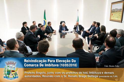Reunião com Renato Braga Bettega (Presidente do TJPR