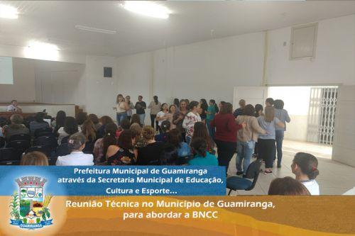 Reunião Técnica no Município de Guamiranga, para abordar a BNCC