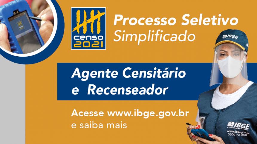 Processos seletivos do IBGE abrem quase 12 mil vagas no Paraná