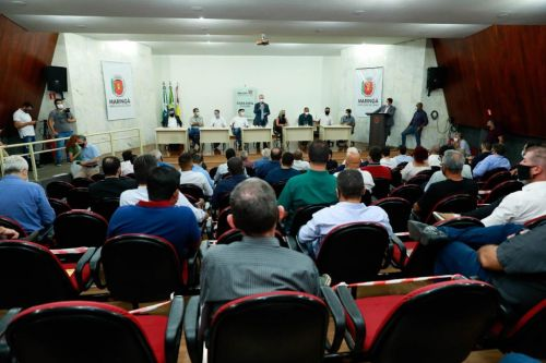 REUNIÃO COM PREFEITOS DA ASSOCIAÇÃO DOS MUNICÍPIOS DO SETENTRIÃO PARANAENSE (AMUSEP)
