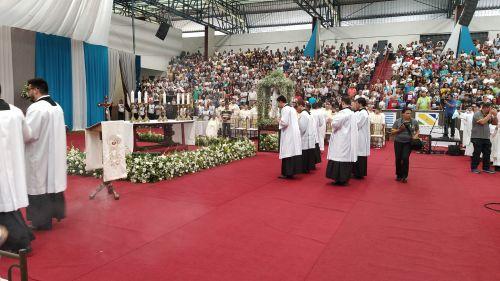PREFEITO NELINHO FOI CONVIDADO PARA REPRESENTAR IGUARAÇU NA 1ª ROMARIA DA DIOCESE DE APUCARANA.