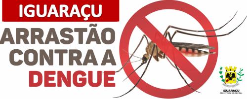 Secretaria Municipal de Saúde de Iguaraçu estará realizando arrastão de combate a Dengue e Escorpião.