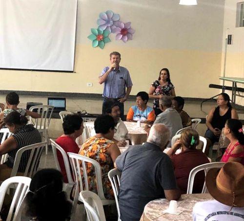 Prefeitura promoveu almoço para os Idosos de Iguaraçu