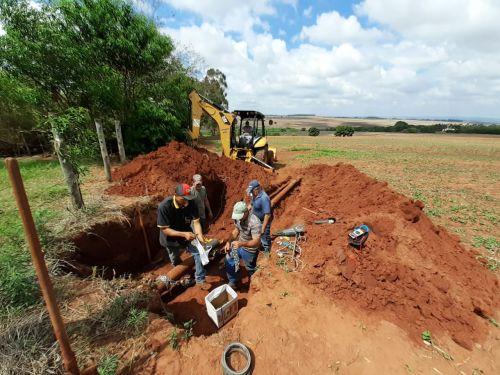 Rompimento de adutora deixou Iguaraçu sem água nesta tarde: O problema já foi resolvido.
