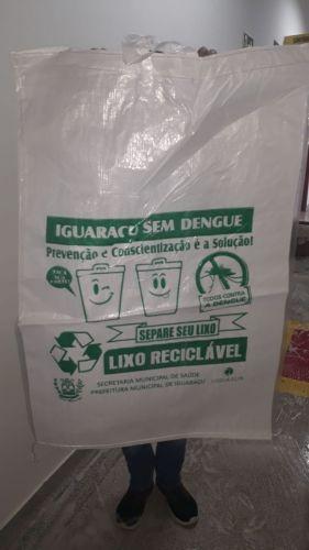 Projeto com material reciclável gera cupons para crianças concorrerem à prêmios em Iguaraçu.