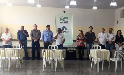Sorteio das Casas do Conjunto Residencial Geraldo Gonçalves Mendes