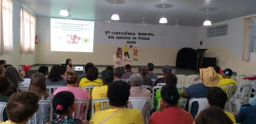 IGUARAÇU REALIZOU A PRIMEIRA CONFERÊNCIA DO DIREITO DA PESSOA IDOSA