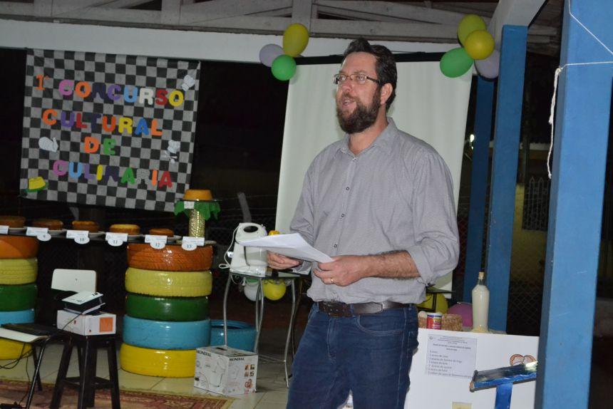O diretor de Comunicação Social de Marialva, Osvaldo Sigles Jr, foi o mestre de cerimônias do evento