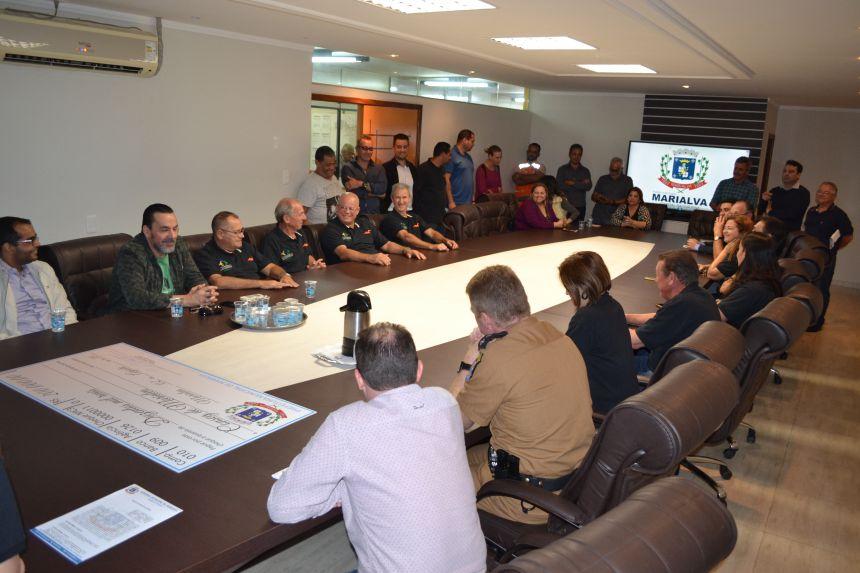 Prefeitura de Marialva faz investimentos na área da Segurança Pública