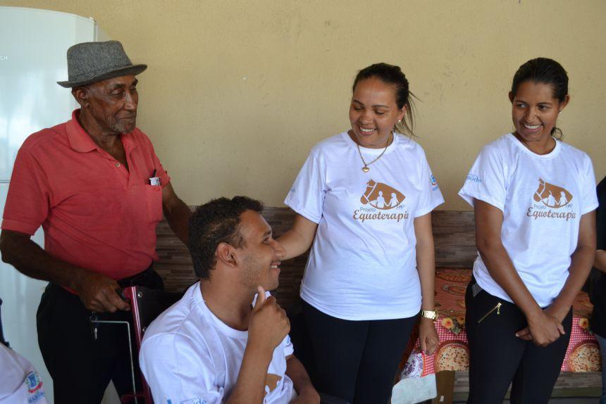 Projeto de terapia com cavalos (Equoterapia) é lançado em Marialva