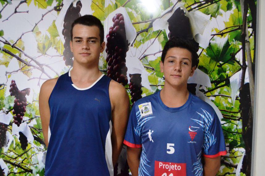 Diogo (à esquerda) e Afonso integrarão o plantel do Corinthians