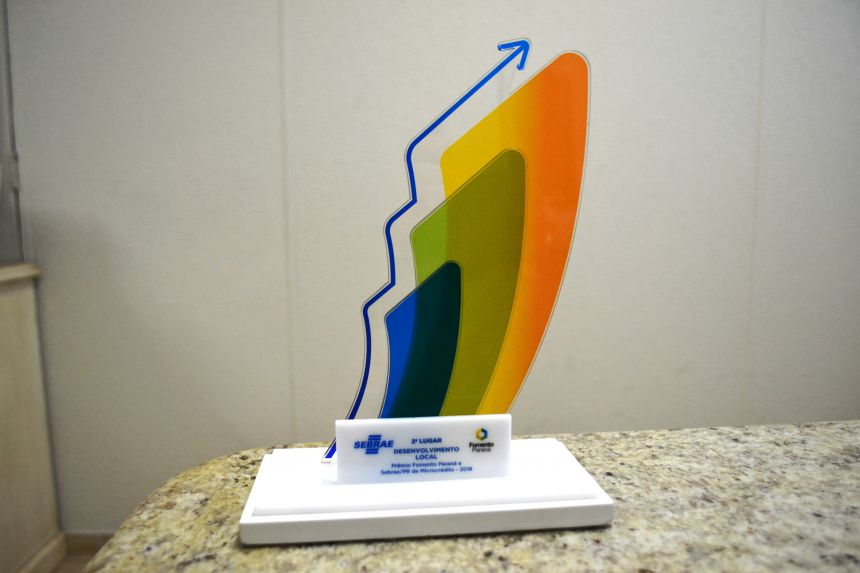 Marialva levou o segundo lugar em Desenvolvimento Local de premiação da Fomento Paraná e do Sebrae